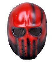 Wholesale Wire Mesh FRP Pandora Hearts Elliot DMF Hallow Party Cosplay Mask Movie Superhero Masks BB Bulletproof Airsoft Paintball Mask