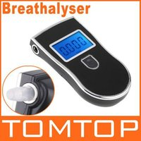 Wholesale Gadgets Meter Prefessional Police Digital Breath Alcohol Tester battery the Breathalyzer Dropship Parking Car Detector Gadget TY1164