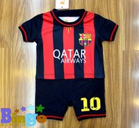 baby clothes body - Baby One Piece Romper kids Crawling clothes joined bodies clothes football jerseys climbing clothing
