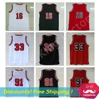Wholesale Cheap Basketball Jerseys Jersey Top Quality embroidery Logos men sport Jerseys S M L XL XXL