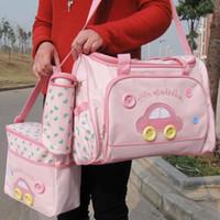 baby bottle bags - Baby Diaper Nappy Bag Mummy Changing Mat Bottle Holder Handbag