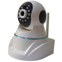 Wholesale White Robot IP Camera WIFI Wireless Camera Automatically switch day and night Indoors IP Camera CCTV Camera Home Security system Video