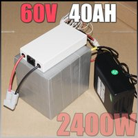 Wholesale 60V Ah LiFePO4 Battery Pack W Electric Bicycle Battery BMS Charger v lithium scooter electric bike battery pack