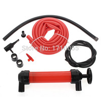 Wholesale New Car Siphon Tire Fuel Oil Gas Liquid Fuel Hand Pump Air Inflator Transfer Pipe Tool