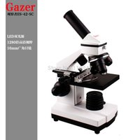 Wholesale Brand New Gazer SAGA ES x Biological Microscope with both Coarse Focus and Fine Focus Adjustment
