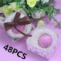 baby birthday keepsake - 48Pcs Birds Egg Model Soap Giveaway Gift Girl Boy Baby Shower Souvenirs Keepsake Birthday Wedding Favors and Gifts For Guest