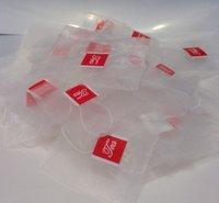 Wholesale 1000pcs mm food grade nylon pyramid tea bag empty teabags