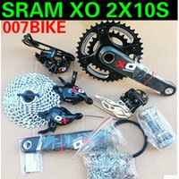 Wholesale US linked XO speed SRAM speed in sets of carbon fiber bicycle crank Red Label Premium Suite