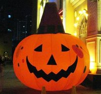 Wholesale Multi size m m Inflatable Halloween Pumpkin with Light for Decoration