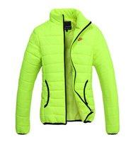al por mayor abrigos xxl para las mujeres-el envío al por mayor-Libre! Los nuevos modelos femeninos de espesor invierno cálido algodón acolchada chaqueta de la chaqueta de deporte femenino M-XXL