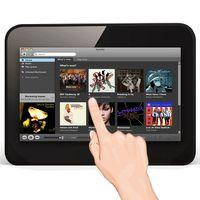 Wholesale 7 inch WF702 Andrdoid Tablet HIFI PAD Portable Internet Radio for all radio apps Wifi Digital photo frame Signage Touch Wifi Camera