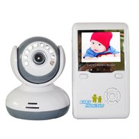 Wholesale 2015 NEW Style D Wireless Baby Monitor inch TFT LCD Wireless monitor to Night Vision Two Way Talk