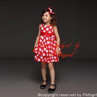 baby retail shops - Pettigirl Retail Baby Girls Dresses New White Dot Dresses Elegant Cute Princess Casual Dresses For Kids Summer Wear Drop Shopping GD21008