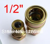 Wholesale 1 quot BSP Hydraulic Quick Coupler ISO A PSI CLOSE TYPE QUICK COUPLING Compatible with PARKER FASTER ANV