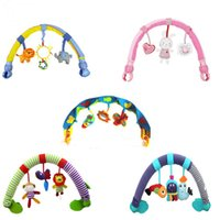 Wholesale New Baby Toy Months Soft Developmental Musical Toys Colorful Clip On Baby Stroller Arch With Soft toys