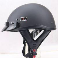 Paquet de courrier de la guerre mondiale casque allemand Casque allemand Harley KuaZi équipement demi-casque les amateurs militaires peuvent gros