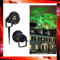 Wholesale Outdoor IP65 waterproof Laser stage light christmas lights outdoor laser lighting projector red green firefly sky star show