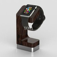 wooden stand - Stand for apple WATCH smart bracelet wooden stand watch Chin Smart Watch charging stand holder