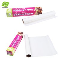 cooking oil - 5 Meters Roll Non stick Baking Paper Cooking Tools Silicone Mat For BBQ Microwaves Oven Oil proof Paper dandys