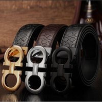 Wholesale New Fashion belt buckles Men s Belt Genuine Leather Belts Leique Texture belt leather men Wide Belts for men women G belts