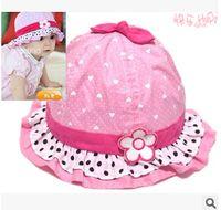 Cheap Korean princess cap infant caps hat Best baby sun hat baby bucket hats