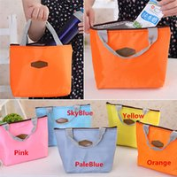 Wholesale New Arrivals Outdoor Lunch Bag Box Insulated Tote Food Drinks Ice Packs Isothermic Bags Oxford Size CM BX111