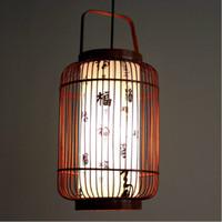 bamboo light fixtures - Handmade bamboo Basket Restaurant Ceiling Pendant Lamp Dining Room Balcony Kitchen Room Restaurant Chandelier Light Fixtures