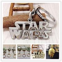 battleship toys - Star Wars Key buckle Airship Metal Keychain Star Trek Spaceship Battleship key ring Children Christmas gifts with retail package designs
