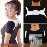 Wholesale Hots sales pair set posture corrector body back support shoulder braces supports Belt Posture Corrector