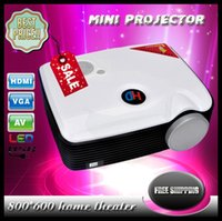 Wholesale 2015 new home theater mini full D hd p projector lumens lcd tv led video projetor degree picture flip proyector D Projector