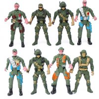 Wholesale In Section five of CM movable military children military model of the modern soldier boy nostalgic toys Christmas gift