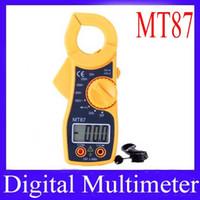 Wholesale digital multimeter MT87 Digital AC Clamp multimeter MOQ
