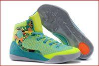 Wholesale 9 Colours With Box High Quality Bryant Kobe KB IX Mid Cuts Elite Influence Volt Orange Men Basketball Sport Trainers Shoes