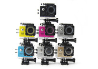 Wholesale W8 HD sport camcorder camera inch LCD screen m waterproof IR degree wide angle