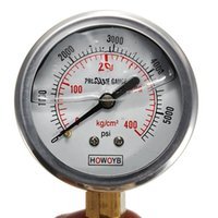 Wholesale New Hydraulic Liquid Filled Pressure Gauge PSI High Quality