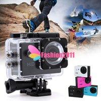 Wholesale Newest A8 P HD MP Helmet inch Sports DV Bicycle Car DVR Action Waterproof Digital Camera Mini Camera C