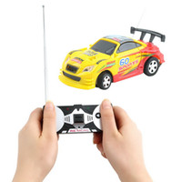 Wholesale Coke Can Mini Speed RC Radio Remote Control Micro Racing Car Toy Gift Brand New