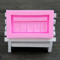 Wholesale Creative DIY Box Fondant Mold Silicone Cake Mold Fondant Decoration Mold Cake Cooking Tools FM104