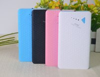Wholesale Colorful mah high capacity power bank for philips samsung S4 S5 all iphone s s colors
