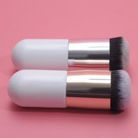 2015 Fondation Professional Chubby Pier pinceau plat la crème BB Portable Maquillage Chubby Brosses