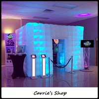 Wholesale Admit people inflatable portable led photo booth