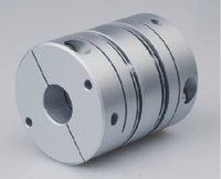Wholesale New Aluminum plum type clamping Series coupling for the servo and stepper motor coupling size D1 mm D2 mm