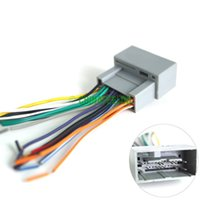 aftermarket car stereo - 30pcs Gurantee quality Car Radio Audio Stereo Amplifier Interface Wire Harness for Honda Install Aftermarket CD DVD Stereo
