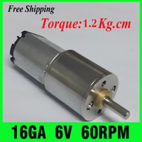Wholesale DC V motor RPM NEW Gearmotors Powerful High Torque Gear Box Motor mini cnc motor