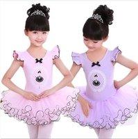 children dance costumes - Children s ballet skirt girl dance skirt suspender skirt cotton uniforms children dance clothing costumes