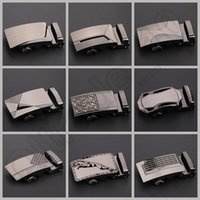 Wholesale 300PCS LJJH1283 Hot Sell Design business casual Alloy automatic buckle belts metal buckle belt man belt buckle in stock