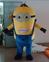 Cattivissimo me <b>minion costume</b> della mascotte per adulti cattivissimo me mascotte costume spedizione gratuita