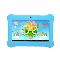 android child tablet - US Stock Inch iRULU Android4 A33 Kids Tablet PC QuadCore Dual Camera Drop Resistance Child Tablets HD Screen