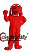 big dog costume xl - Custom made clifford the big red dog mascot costumes mascot Halloween Costumes Christmas Party Adult Size high quality Fancy Dress