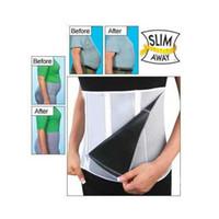 slim away - Slim Away Slim Lift Slim Belt with Zippers Keep Fit Health for Men and Women New Weight Loss Belt Body Waist Shaper Cinchers Belly Con